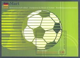 Belgium 2006 Mi Bl 110 MNH ( ZE3 BLGbl110 ) - Coupe Du Monde