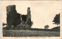 61kb 1408 CPA - PEYREHORADE - RUINES DE CHATEAU D'ASPREMONT - Peyrehorade
