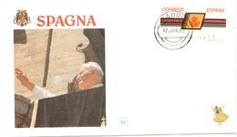 13307 - Visite JEAN PAUL II - 1991-00 Lettres