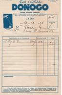 Cafés Donogo Par La Brasserie Winckler A Lyon - Alimentaire