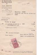 St Raphael-quinquina Concessionnaire Jean Mottet A Lyon - Alimentaire