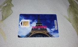 "TELECARTE ""MA TELECARTE"" SAINT VALENTIN TOUR EIFFEL 5 UNITES RARE !!! - France"