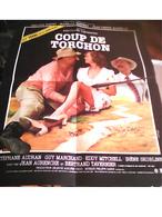 AFF CINE ORIG NEUVE COUP DE TORCHON (B.Tavernier) 40X60 1981 P Noiret I Huppert E Mitchell - Plakate & Poster