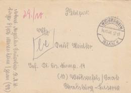Feldpost 1944 Meisenheim Nach Weißenfels RAD - Occupation 1938-45