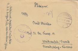 Feldpost Brief Bad Kreuznach Nach Weißenfels, RAD - Occupation 1938-45
