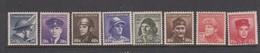 Czechoslovakia Scott 272-279 1945 War Heroes, Mint Never Hinged - Czechoslovakia