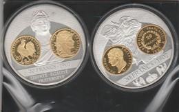 Histoire De La Monnaie - 20 Francs 1807 - 20 Francs 1907 - Très Bon état - 2 Pieces - - Commémoratives
