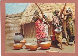 GHANA PREPARATION DU CASSAVA  ( Pub Marinol ) - Ghana - Gold Coast