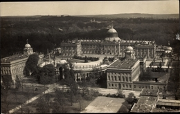 Cp Potsdam In Brandenburg, Neues Palais, Fliegeraufnahme - Alemania