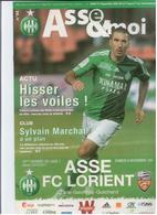 FOOTBALL PROGRAMME 2010 ASSE ST ETIENNE FC LORIENT ETAT NEUF - Otros