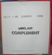 MOC - JEU EUROPA/CEPT MOCLAIR 1995 (Avec Pochettes) - Pré-Imprimés