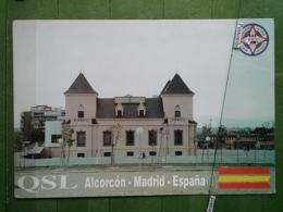 KOV 1081 - MADRID, ALCORCON, RACA, RADIO AMATEUR - Madrid