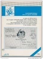 Club Marcophile De La Seconde Guerre Mondiale - Bulletin N° 0 - Juin 1984 - Poste Militaire & Histoire Postale