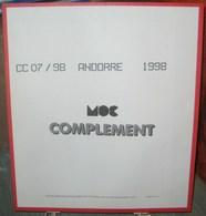 MOC - JEU ANDORRE FRANCAIS MOCLAIR 1998 (Avec Pochettes) - Pré-Imprimés