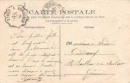 A-19-1572 : CACHET AMBULANT. EYMET A BORDEAUX. GIRONDE. DORDOGNE. - Marcophilie (Lettres)