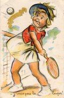 Germaine Bouret, Découpis, Paillettes, Tennis. - Bouret, Germaine