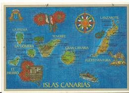 Espagne   Islas Canarias   Mapa - Espagne