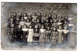 ECAUSSINNES D'ENGHIEN 1909 Ecole Communale Classe 2eme Année Classe Primaire - Carte Photo - Ecaussinnes