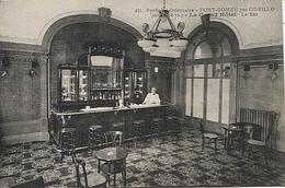 X120836 PYRENEES ORIENTALES FONT ROMEU PAR ODEILLO LE BAR DU GRAND HOTEL - France