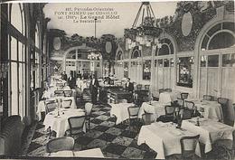 X120837 PYRENEES ORIENTALES FONT ROMEU PAR ODEILLO LE RESTAURANT DU GRAND HOTEL - France