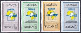 Sudan Soudan 2007 Organisationen RASCOM Kommunikation Communication Satelliten Satelittes Weltraum Space, Mi. 622-5 ** - Sudan (1954-...)