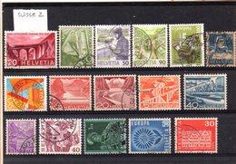 Suisse, Lot De 16 Timbres, Lot N°2 - Collections