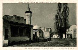 EXPOSITION COLONIALE INTERNATIONALE PARIS 1931 SECTION TUNISIENNE  LA CAFE MAURE - Esposizioni