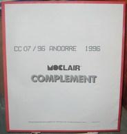 MOC - JEU ANDORRE FRANCAIS MOCLAIR 1996 (Avec Pochettes) - Pré-Imprimés