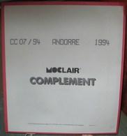 MOC - JEU ANDORRE FRANCAIS MOCLAIR 1994 (Avec Pochettes) - Pré-Imprimés