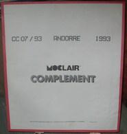MOC - JEU ANDORRE FRANCAIS MOCLAIR 1993 (Avec Pochettes) - Pré-Imprimés