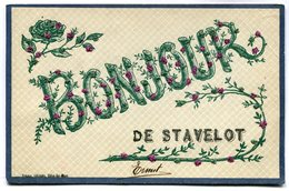 CPA - Carte Postale - Belgique - Bonjour De Stavelot - 1907  (M6974) - Stavelot