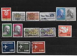 PORTUGAL 914/916/918/919/922 à 927/931 à 934 Oblitérés Rond - 1910-... República