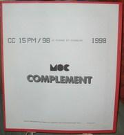 MOC - JEU SAINT-PIERRE Et MIQUELON MOCLAIR 1998 (Avec Pochettes) - Pré-Imprimés