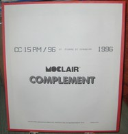 MOC - JEU SAINT-PIERRE Et MIQUELON MOCLAIR 1996 (Avec Pochettes) - Pré-Imprimés