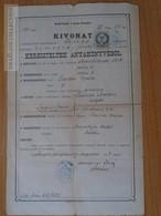 ZA172.10 Old Document - Hungary-Romania Banat -Temesvár Józsefváros   Gustav  Püchler  1883 - Naissance & Baptême