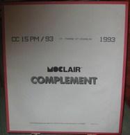 MOC - JEU SAINT-PIERRE Et MIQUELON MOCLAIR 1993 (Avec Pochettes) - Pré-Imprimés