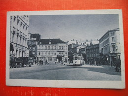 Schwerin I.M.Adolf-Hitler-Platz.Tramway - Schwerin