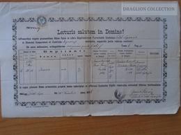 ZA172.11 Old Document - POLAND  Felső-Laps  - Felsőlápos  -  Łapsze Wyżne -Radeczky Majercsak Nemecz 1886 - Birth & Baptism