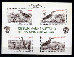 TAAF 693 696  F Oiseaux Marins Austraux Neuf ** MNH Sin Charmela Faciale 3.97 - Unused Stamps