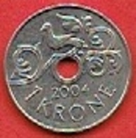NORWAY # 1 KRONER FROM 2004 - Norvège