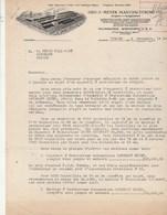 Etats Unis Facture Lettre Illustrée 16/11/1938 Geo J MEYER Designers & Manufacturers - Appareil à Pasteurise MILWAUKEE W - Etats-Unis