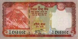 Nepal 20 Rupee (P71) 2012 -UNC- - Népal