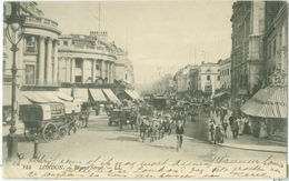 London 1923; Regent Street - Circulated. (LL.) - London