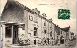 51 - VALDEMANGE --  La Mairie Et L'Ecole - France