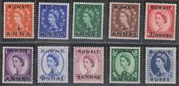Kuwait Britannico 1953 MiN°94-103 10v MNH - British Levant