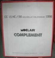 MOC - JEU NOUVELLE-CALEDONIE MOCLAIR 1998 (Avec Pochettes) - Pré-Imprimés
