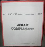 MOC - JEU NOUVELLE-CALEDONIE MOCLAIR 1997 (Avec Pochettes) - Pré-Imprimés