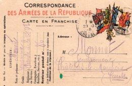 B55643 Correspondance Des Armées, Adresse Chatelus Le Marcheix - Non Classés