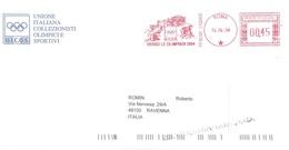 VERSO LE OLIMPIADI 2004 - Marcophilie - EMA (Empreintes Machines)