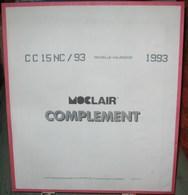 MOC - JEU NOUVELLE-CALEDONIE MOCLAIR 1993 (Avec Pochettes) - Pré-Imprimés